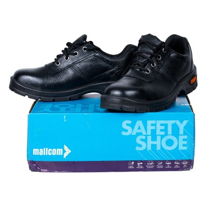 LOREX, Single Density Tiger Sole Shoes for mallcom Feet protection. It is Low ankle safety shoe