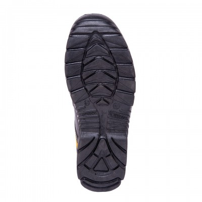 LIGER H, Double Density Oliver Sole Shoes for mallcom Feet protection. It is High ankle leather boot