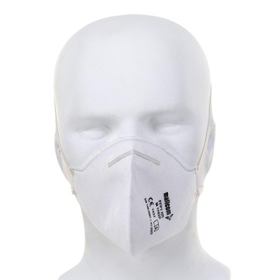 M1102P, Foldable Disposable Respiratory Mask for mallcom Head protection. It is FFP1 face mask
