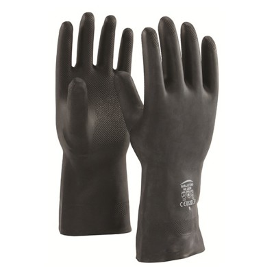 NE282B, Seamless Nitrile Gloves for mallcom Hand protection. It is Unsupported nitrile gloves