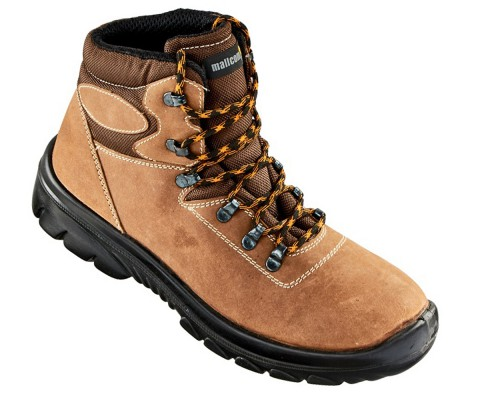 OREGON, Single Density Tiglon Sole Shoes for mallcom Feet protection. It is High ankle leather boot