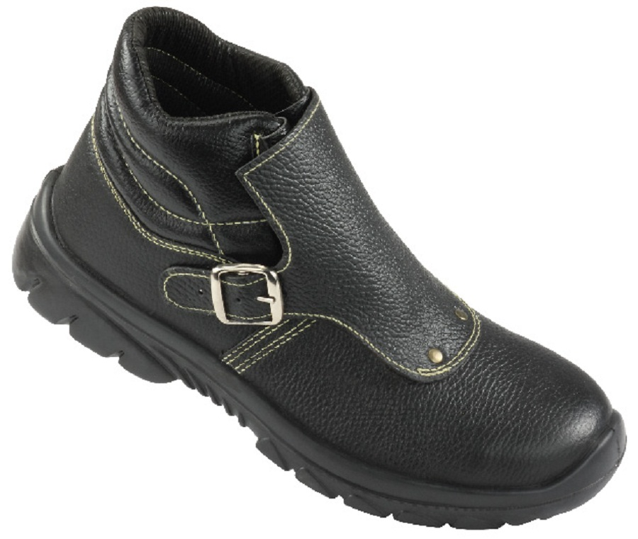 PYTHON, Single Density Tiglon Sole Shoes for mallcom Feet protection. It is High ankle leather boot
