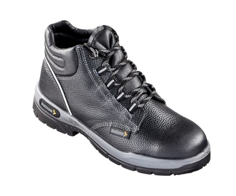 SIMBA, Double Density Oliver Sole Shoes for mallcom Feet protection. It is High ankle leather boot