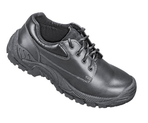 WALNOT, Double Density Darwin Sole Shoes for mallcom Feet protection. It is Low ankle leather boot